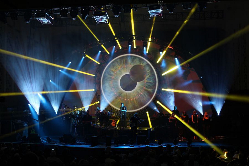 Brit Floyd performs music from the Pink Floyd catalog on Friday at the Cumberland County Civic Center in Portland.