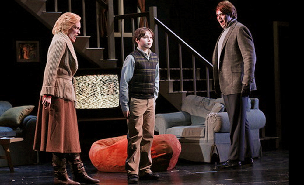 "Benjamin Wenzelberg, 14, who performed recently with the Portland Symphony Orchestra, is shown in ""The Turn of the Screw"" at the New York City Opera, a contrast to the typical use of boy sopranos to convey a vision of heaven. Courtesy photo"