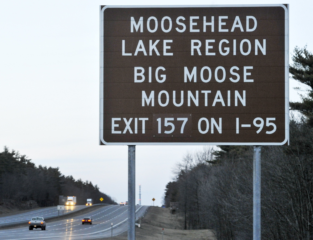 """A proposal targets some """"supplemental guide signs,"""" which are brown with white lettering and give exit numbers for small or distant destinations."""