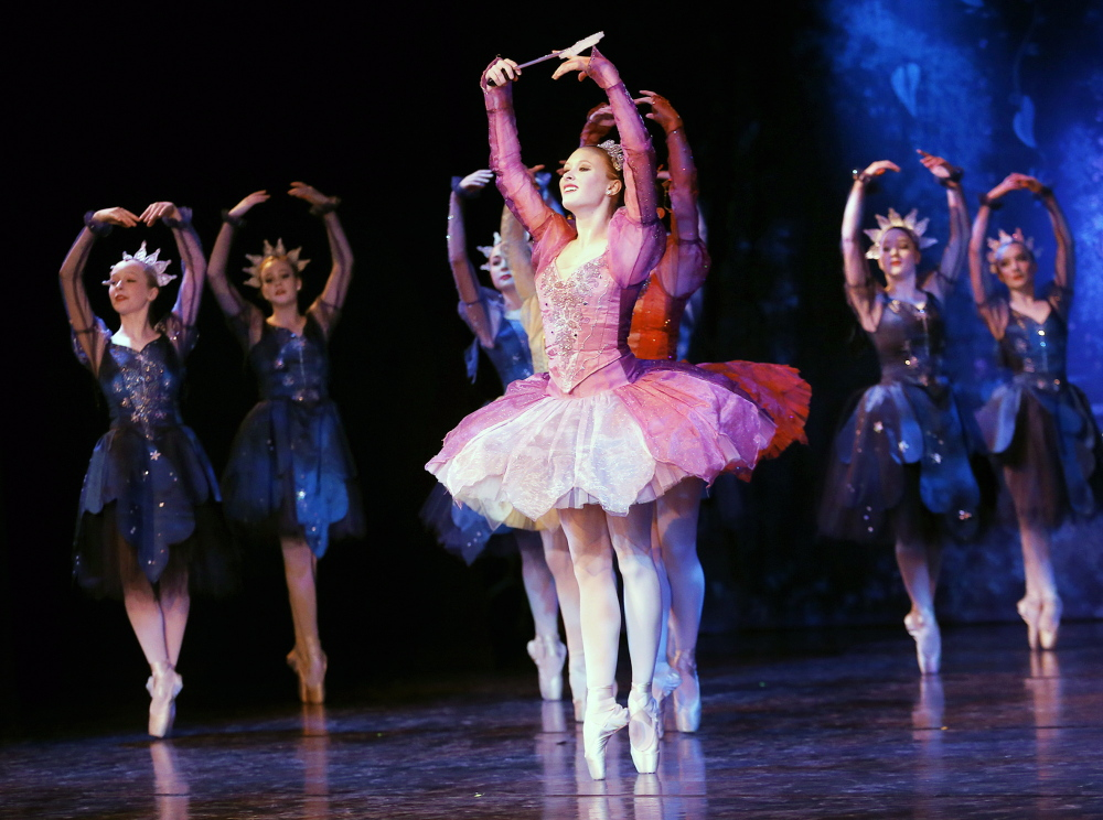 "Maine State Ballet is presenting ""Cinderella"" at its theater in Falmouth through April 13."