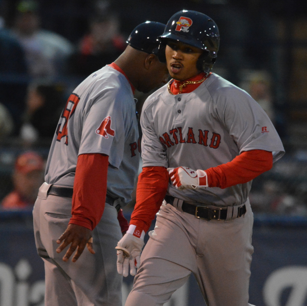Henry Owens got most of the attention but Mookie Betts made an impressive Double-A debut, hitting a homer as the first batter of the game, going 4 for 4 and playing a splendid second base.