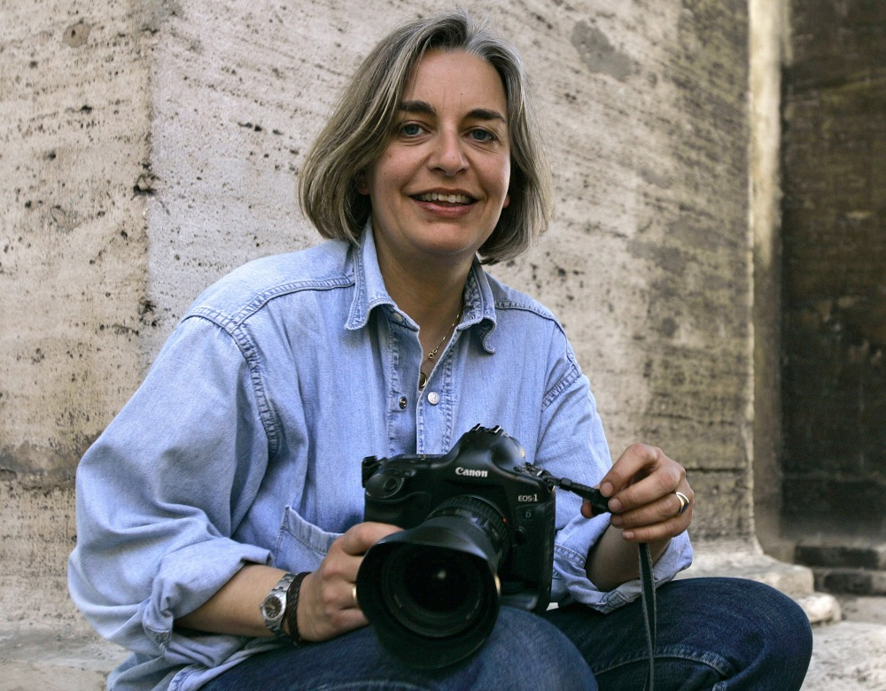 Associated Press photographer Anja Niedringhaus, 48, was killed Friday when an Afghan policeman opened fire in eastern Afghanistan. She was part of an AP team that won the 2005 Pulitzer Prize in breaking news photography for coverage of the war in Iraq.