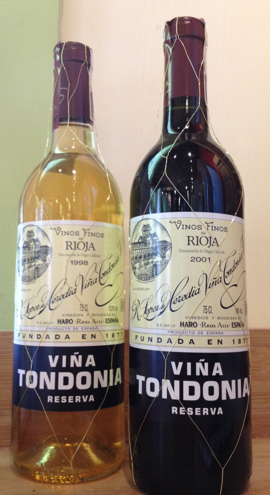 Viña Tondonia from R. López de Heredia remain fresh and crisp despite the long time they are allowed to age.