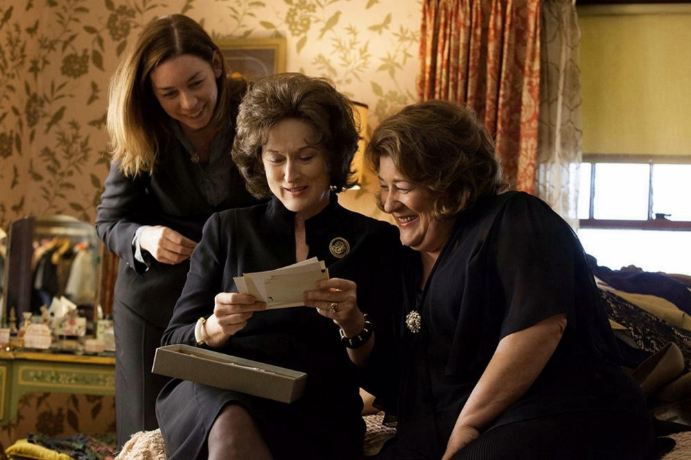 "Julianne Nicholson, left, Meryl Streep and Margo Martindale in ""August: Osage County."""