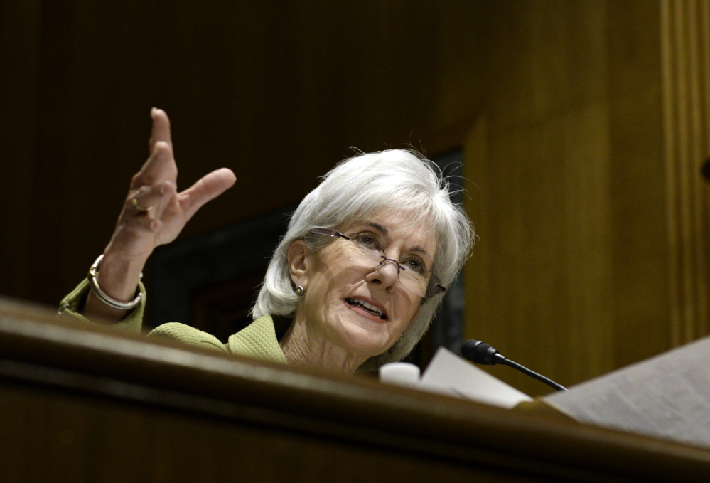Health and Human Services Secretary Kathleen Sebelius is stepping down after helping more than 7 million people buy health insurance on the new marketplaces.