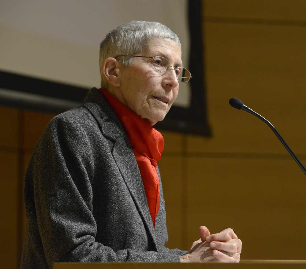 University of Southern Maine President Theodora Kalikow announced Friday that she is reversing the decision to lay off 12 faculty members.