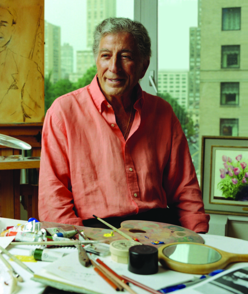 When he's not performing, Tony Bennett is a serious painter who will be up early at his Manhattan home and head to Central Park to set up his easel before the crowds come out. Mark Seliger photo