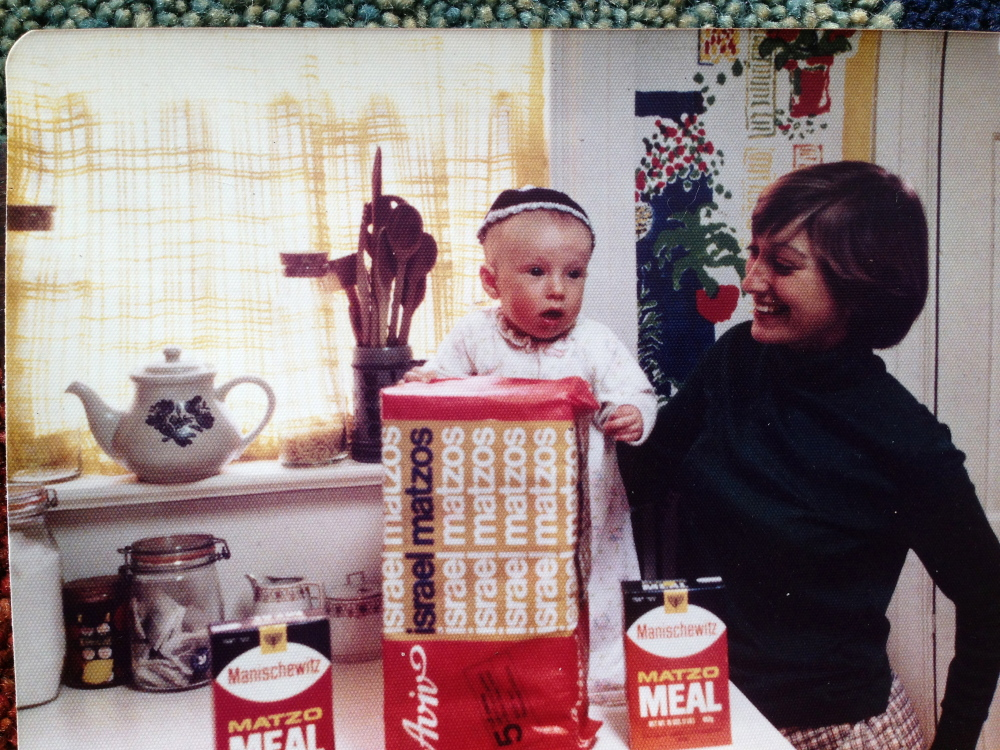 Laura McCandlish as a child, with her mother, Nancy (nee Friedberg) McCandlish, in 1980
