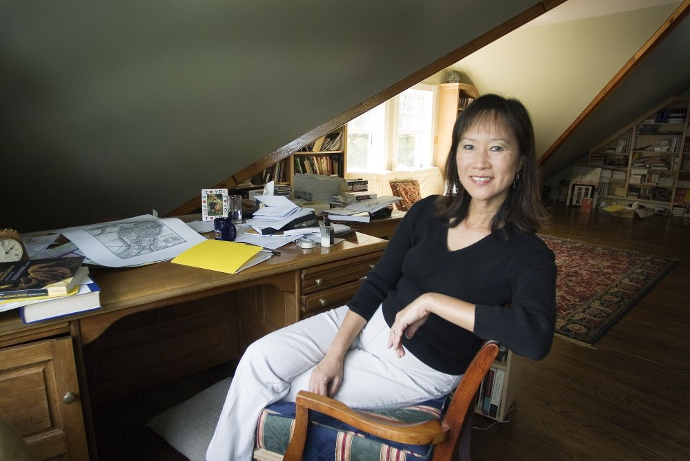 Author Tess Gerritsen will address students when she receives an honorary doctoral degree May 10 at the University of Maine.