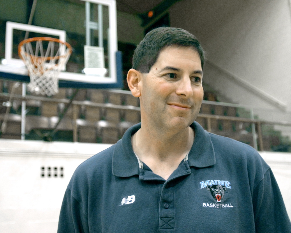 In 10 seasons as head coach of the University of Maine-Orono mens basketball team, coach Ted Woodward compiled a 117-178 record, including no NCAA tournament appearances and only one winning season.