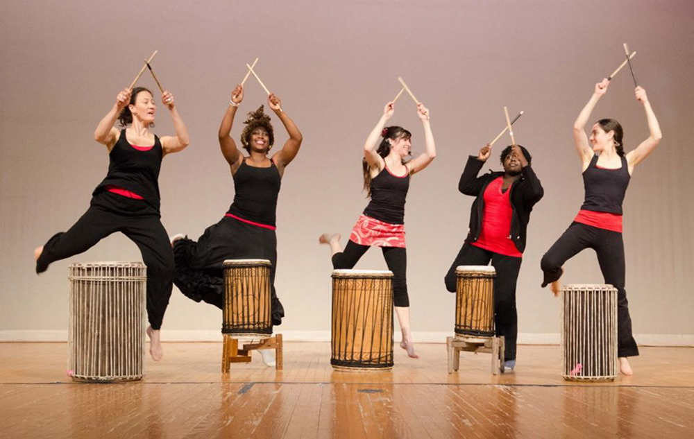 Bakunda (We Love), weaving together dance, music and spoken word to highlight interconnection, will take the stage at Portland High School on Saturday.