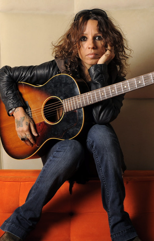 Former lead singer of 4 Non Blondes Linda Perry is shown in 2011. The '90s rock group will reunite to perform for one night on May 10.