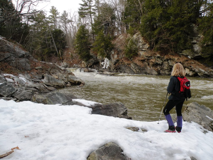 Portland Trails has made possible a 10-mile hike that ends at the Presumpscot River Falls, next to the free-flowing Presumpscot River. It's a delight to remain in the city and still take part in some of the beauties of nature.