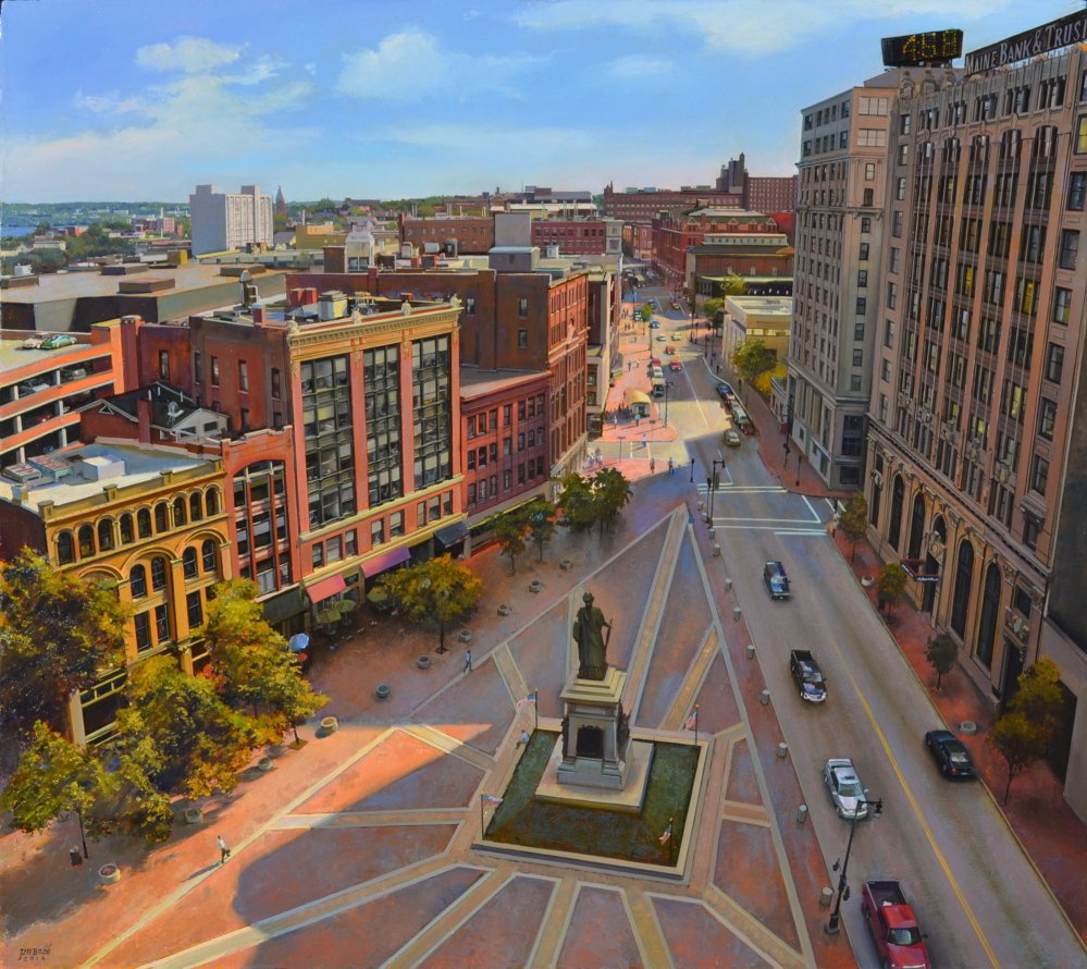 """Monument Square"" by Joel Babb"