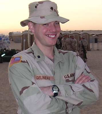 Spc. Christopher Gelineau