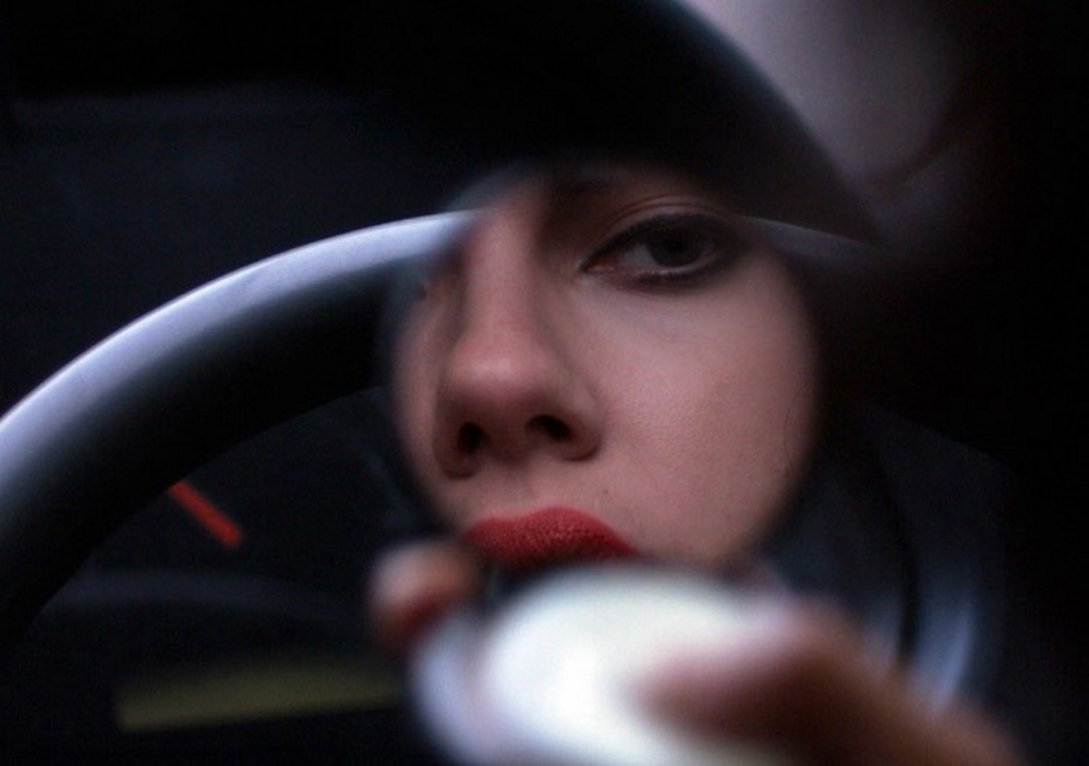 "Scarlett Johansson as an alien seductress in ""Under the Skin"""