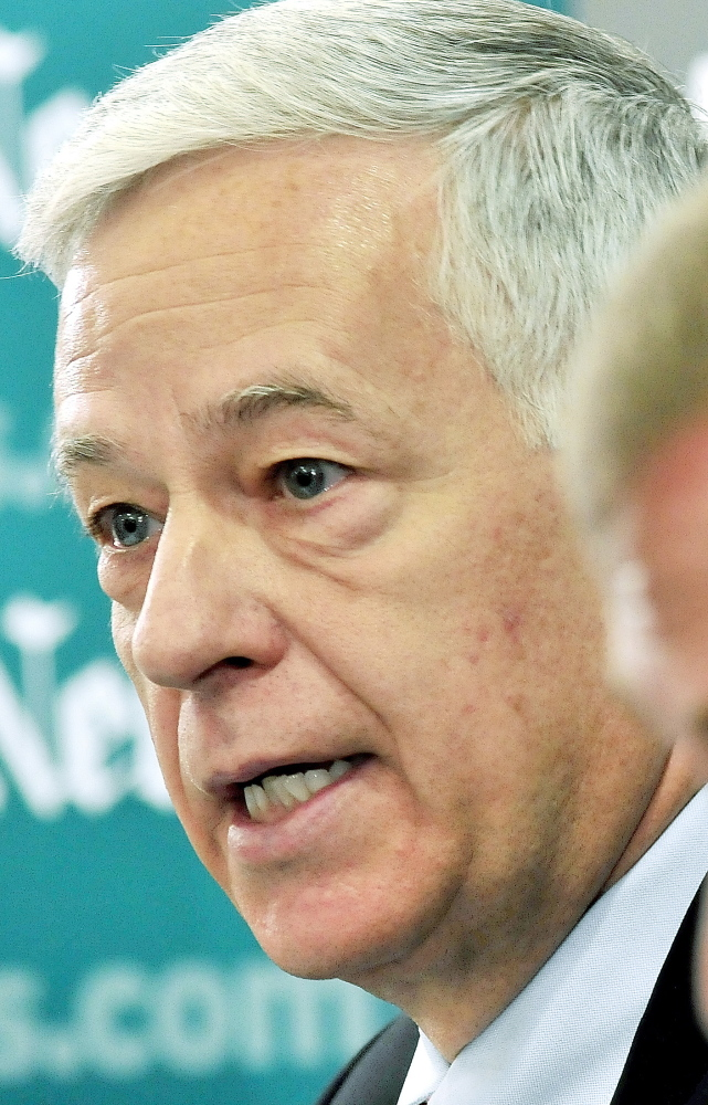 Morning Sentinel File Photo U.S. Rep. Mike Michaud