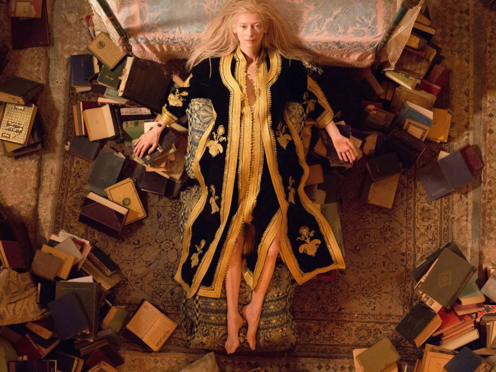 "Tilda Swinton stars as Eve in Jim Jarmusch's ""Only Lovers Left Alive."""