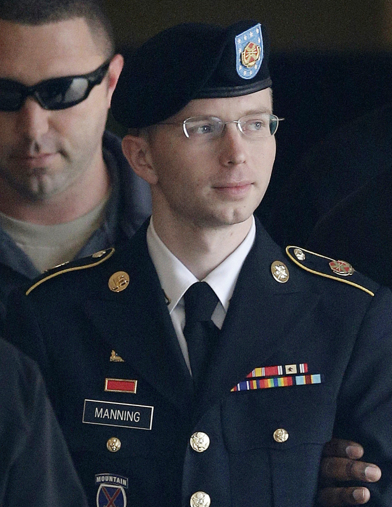 Army Pfc. Bradley Manning, who wants to live as a woman, will be called Chelsea Elizabeth Manning.