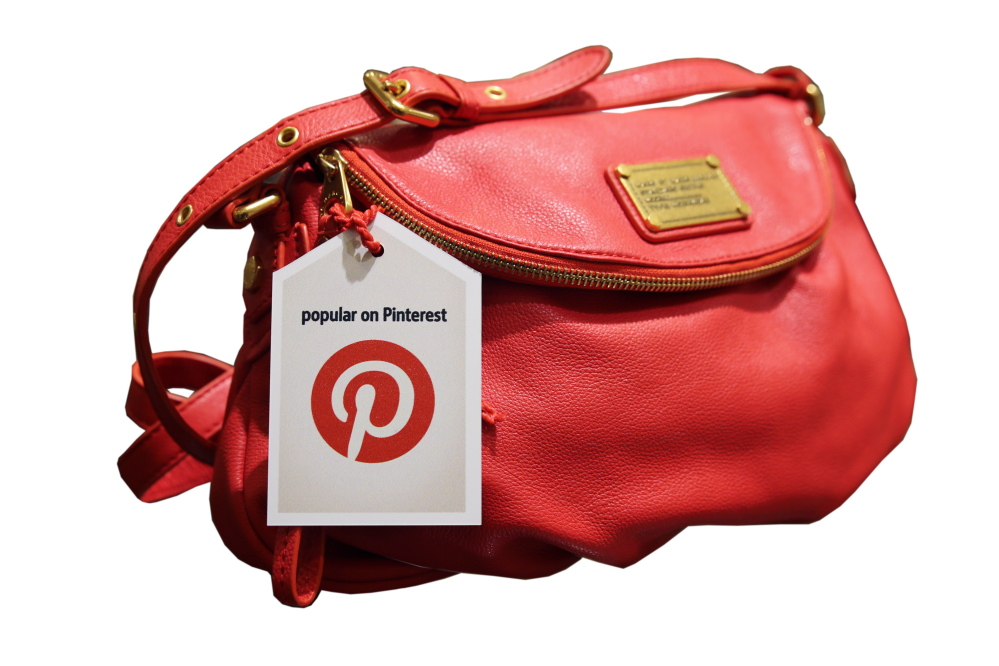 Nordstrom hangs a tag on a handbag made popular on Pinterest, a social-media site that some big retailers rely on to drive customers their way.