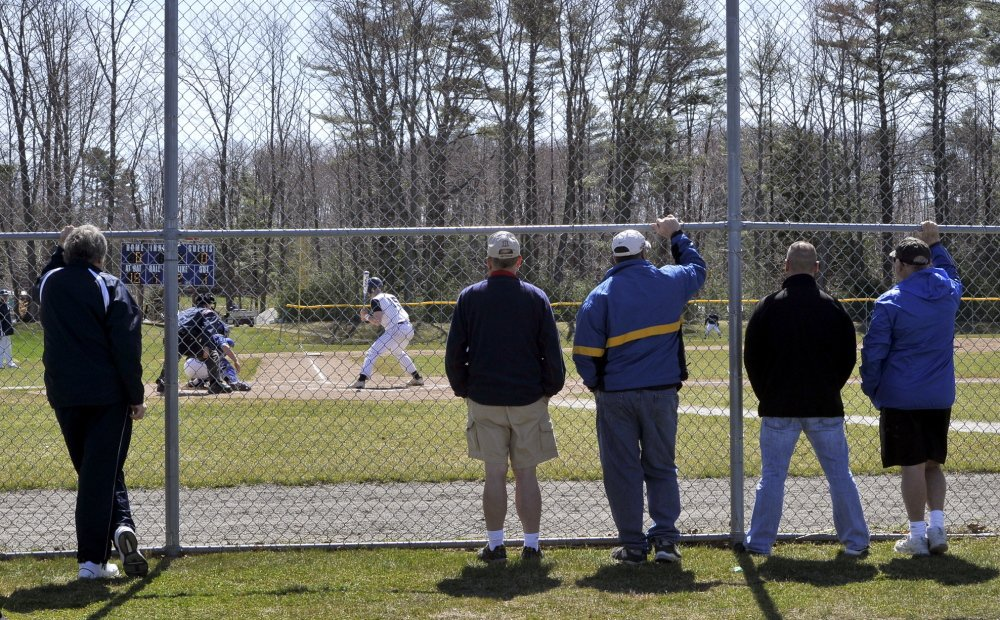 While baseball continued on the field Friday, with a suddenly younger Westbrook team losing to Portland 2-1, fans had their share of discussions on the latest party involving alcohol and teenagers, and what parents and the school could do about it.