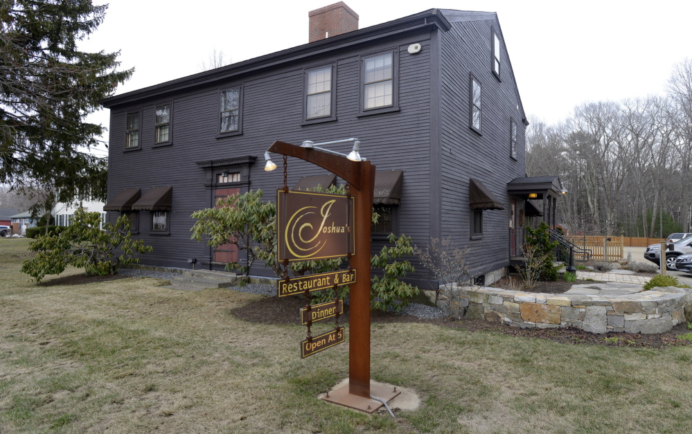 Joshua's, housed in a restored 1774 seafarer's manse in Wells, serves enticing dishes made with produce from Easter Orchard Farm, the family operation a few miles from the restaurant where which chef and proprietor Joshua Mather grew up.