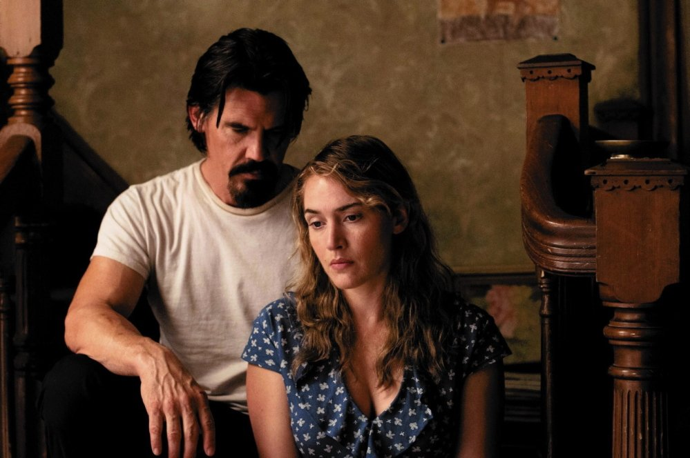 Josh Brolin is Frank and Kate Winslet is Adele in