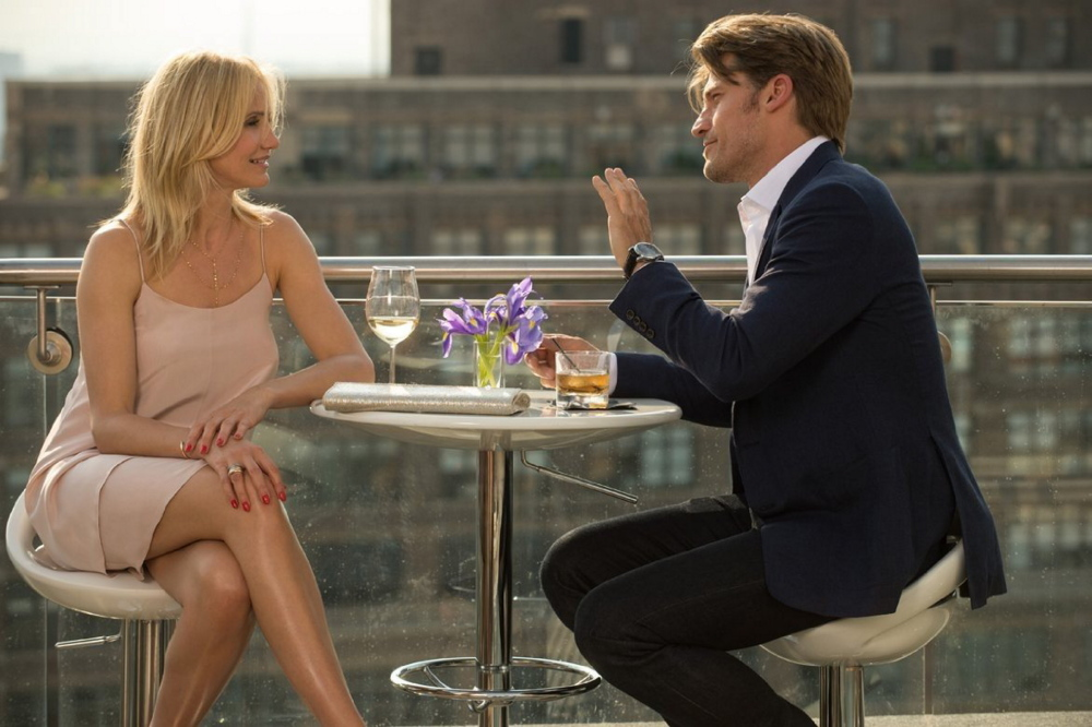 "Cameron Diaz and Nikolaj Coster-Waldau in ""The Other Woman."""