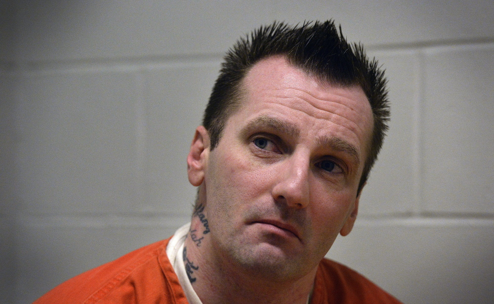 Joshua Nisbet is shown in an April 4 photo. After a four-day trial during which Nisbet defended himself, a jury found him guilty of robbery.