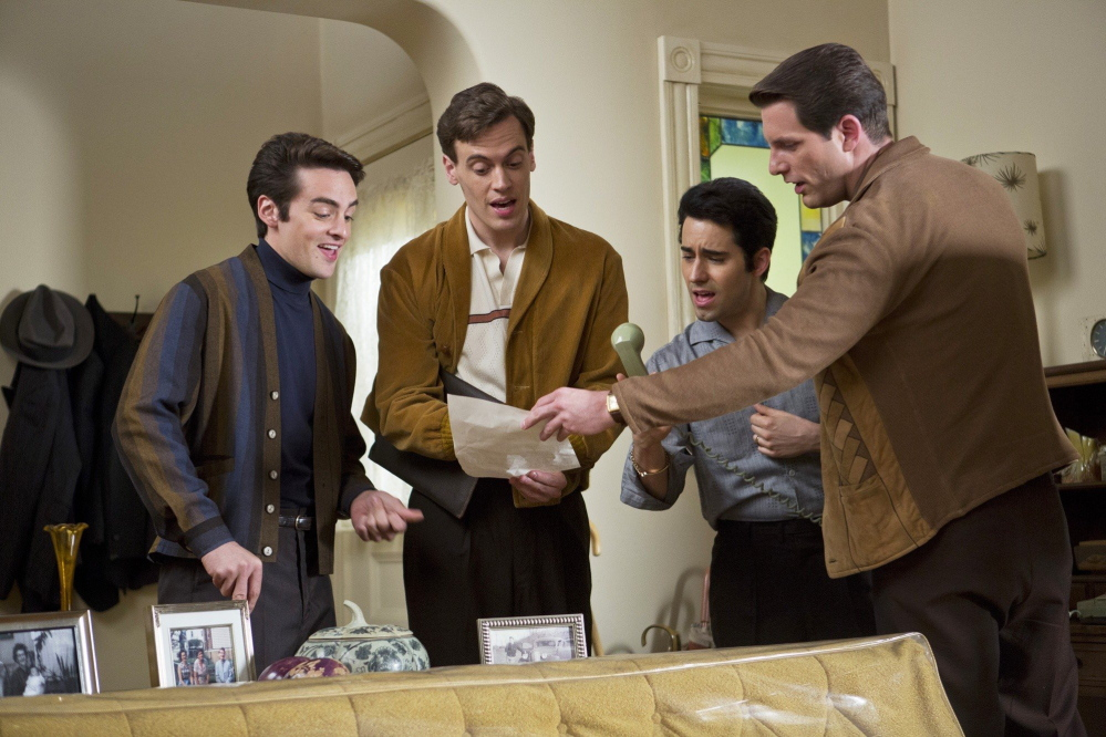 Vincent Piazza, Erich Bergen, John Lloyd Young and Michael Lomenda in