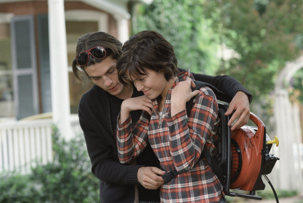 Trent Ford and Mandy Moore in
