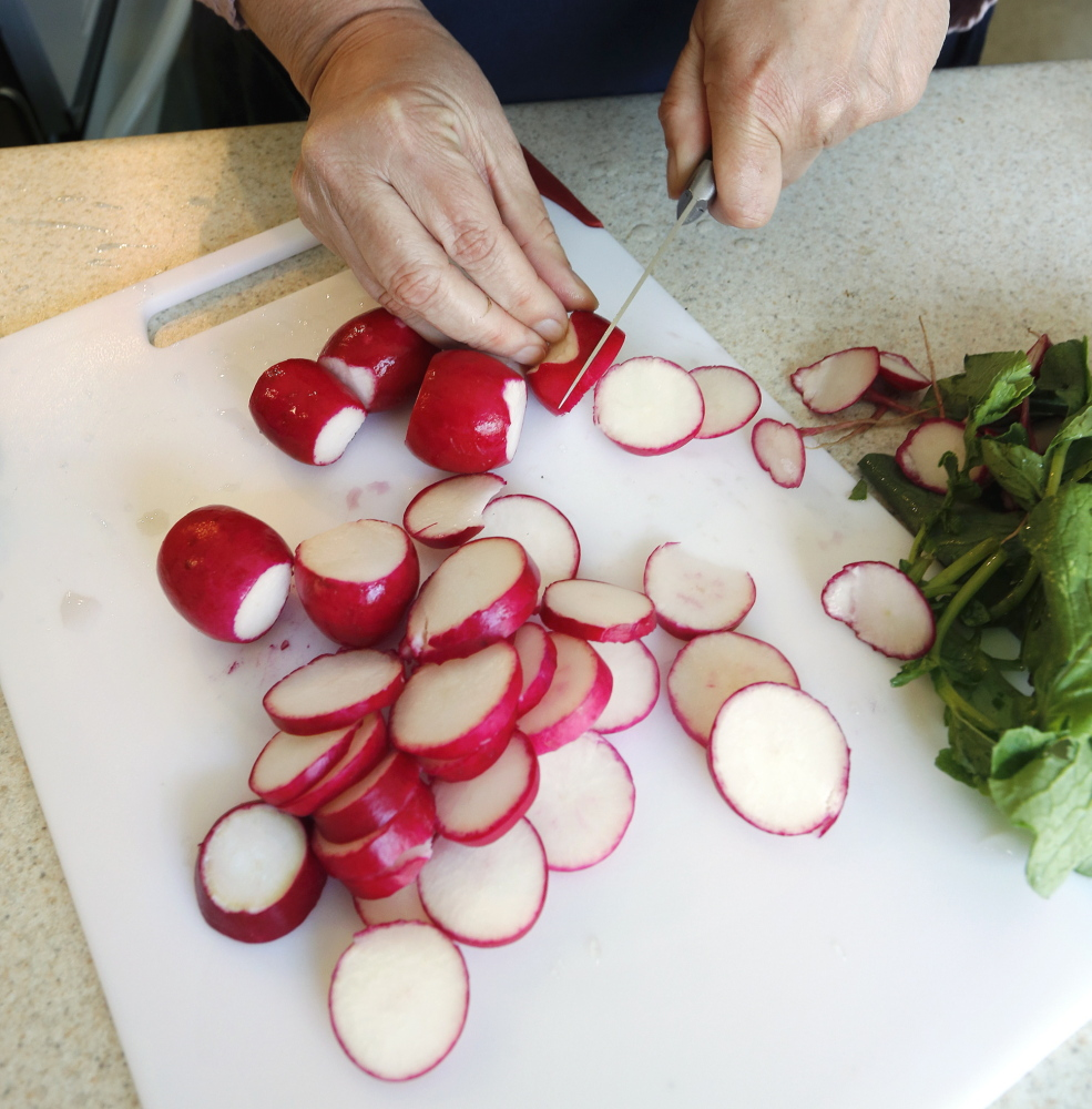 Step 1: Prep the vegetables