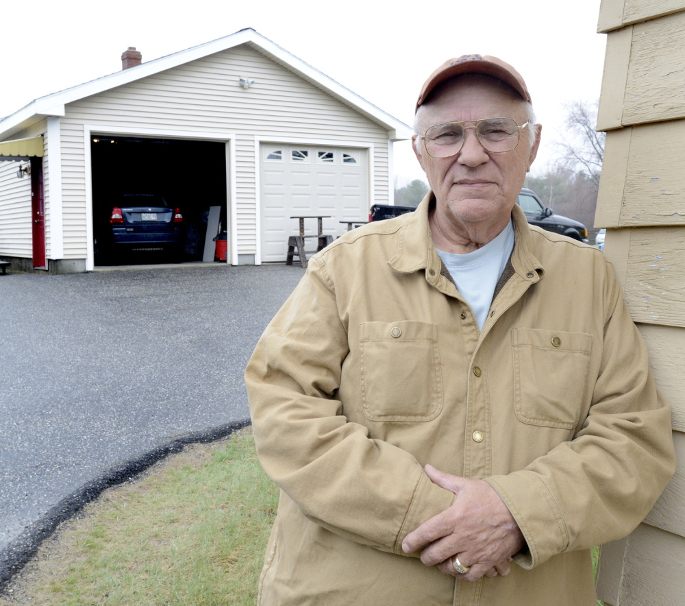 "George Coburn hopes to sell his Saco home, settle his tax bill and move to Florida. ""I love the area, but I can't afford to pay the taxes,"" he said."