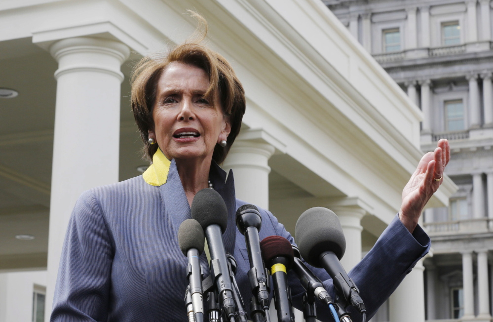 House Minority Leader Nancy Pelosi wants equal numbers of Democrats and Republicans on a panel probing the 2012 attack on a diplomatic post in Libya.