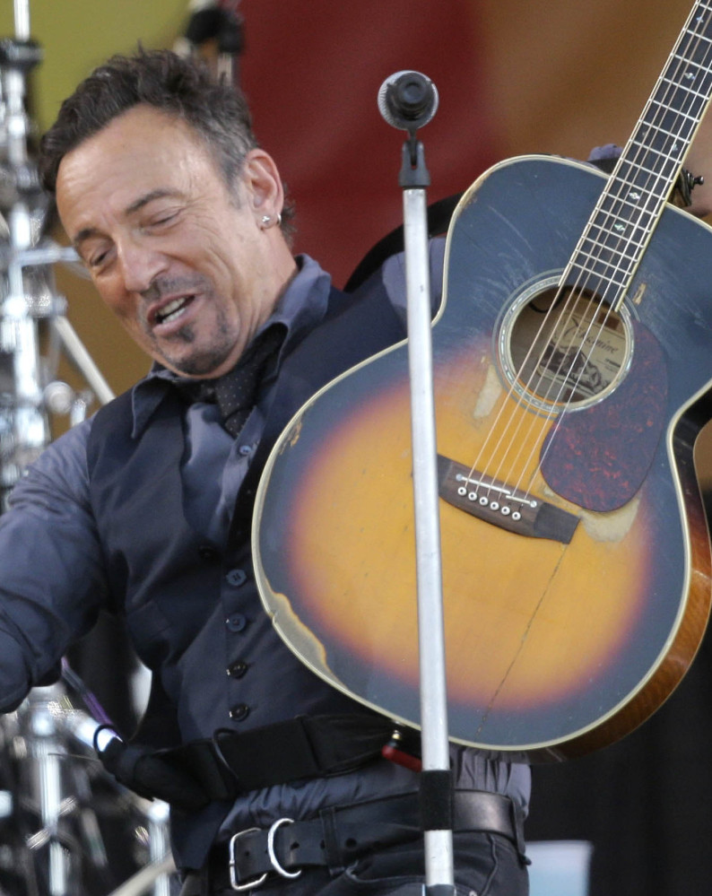 """Bruce Springsteen's original lyrics to """"Born to Run"""" bear little resemblance to the final concert-opening anthem."""