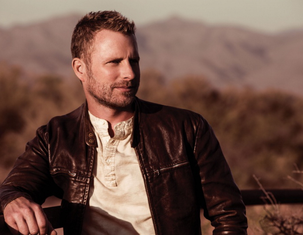 Country star Dierks Bentley performs at the Maine State Pier in Portland on June 12. Tickets go on sale Friday.