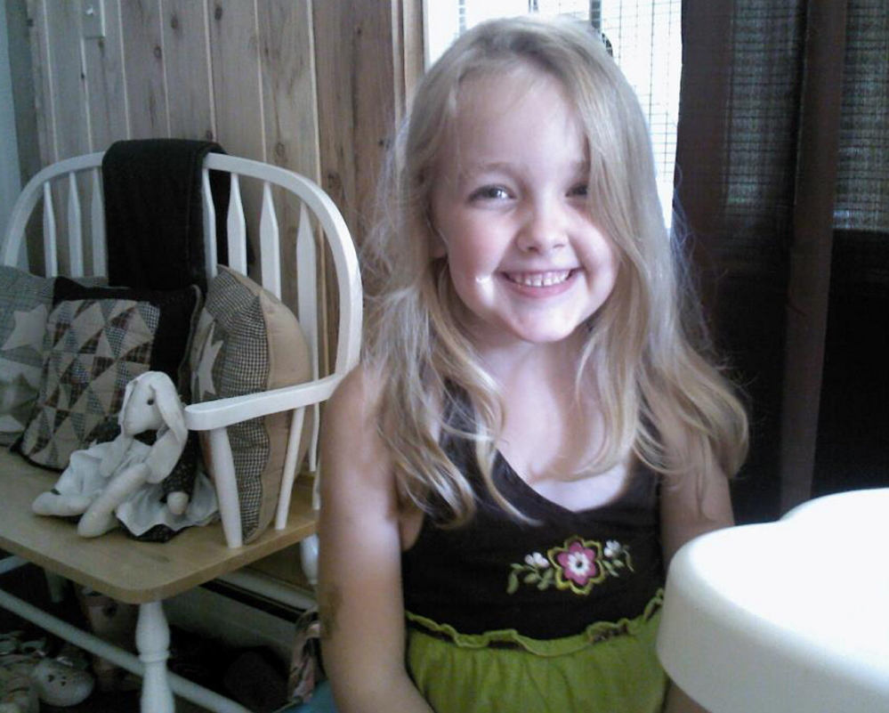 Avery Lane of Benton was 6 years old in 2012 when she became the first child in Maine to die from influenza since 2010. A reward is being offered for information about who has been vandalizing her grave site in Fairfield.