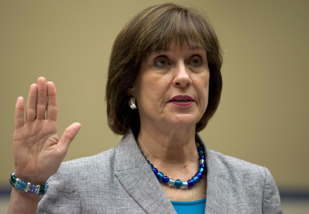 Lois Lerner pleaded the Fifth Amendment at previous hearings.