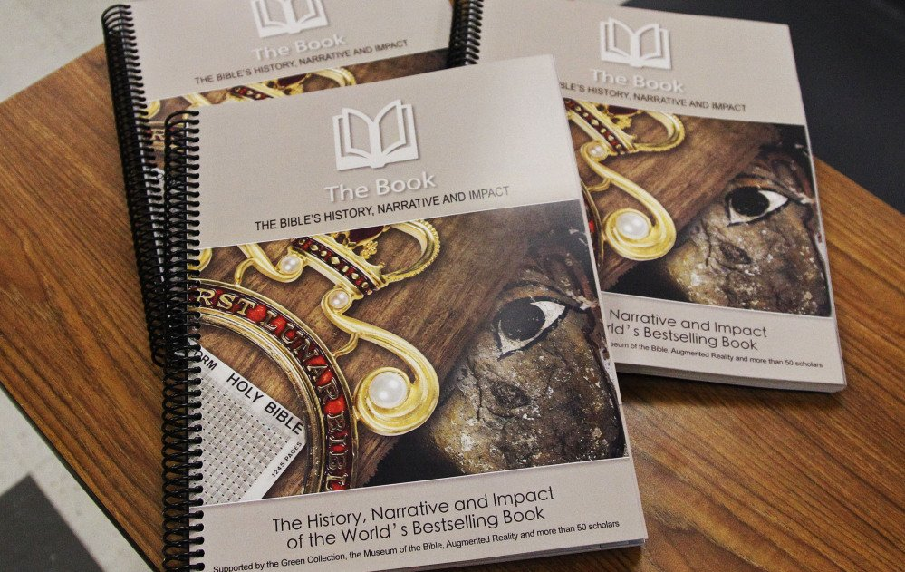 The new elective course on the Bible at the Oklahoma City Mustang School District high school in Mustang, Okla., will use the textbook by the Museum of the Bible.