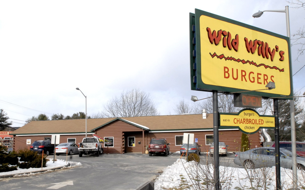 If Wild Willy's Burgers in South Portland, above, remains closed, the chain will have one other Maine location, in York.