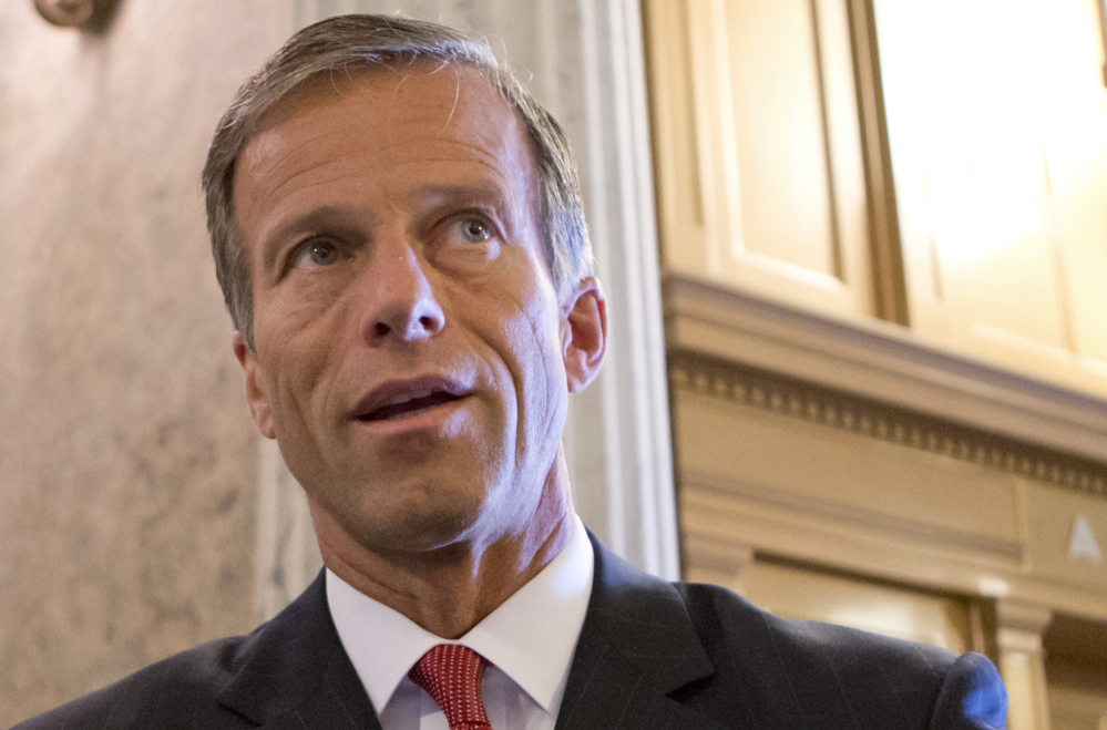 Like many Senate Republicans, Sen. John Thune of South Dakota supports some tax breaks.
