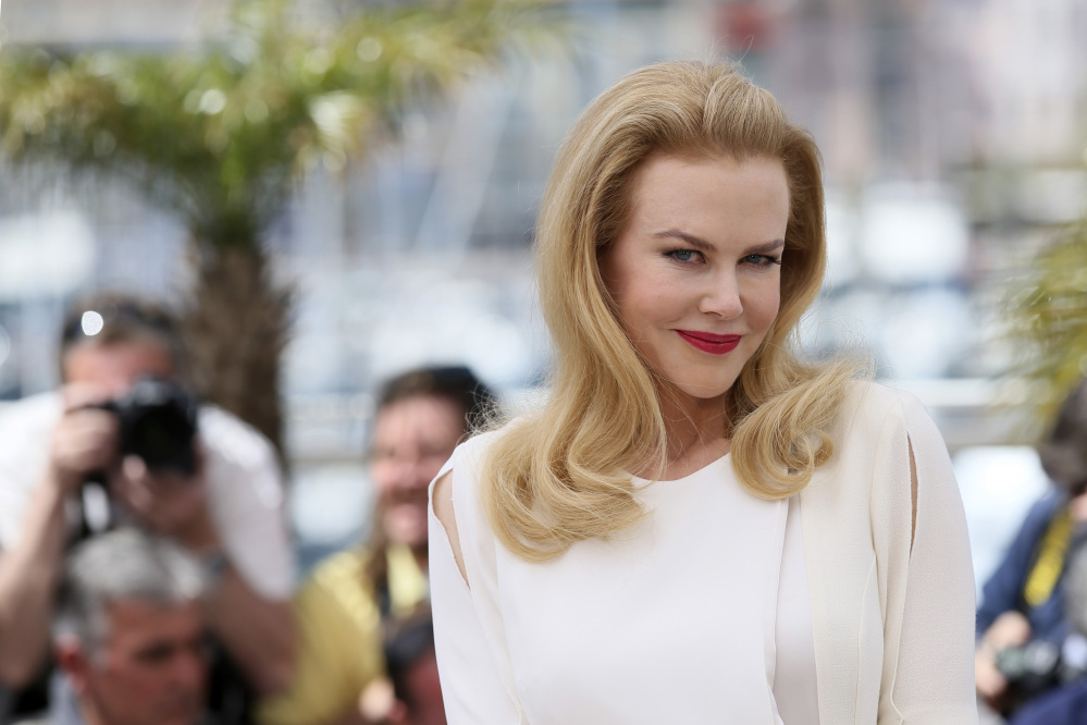 "Actress Nicole Kidman poses for photographers during a photo call for ""Grace of Monaco"" at Cannes, southern France, Wednesday. Princess Stephanie of Monaco has criticized the film about her parents as inaccurate."