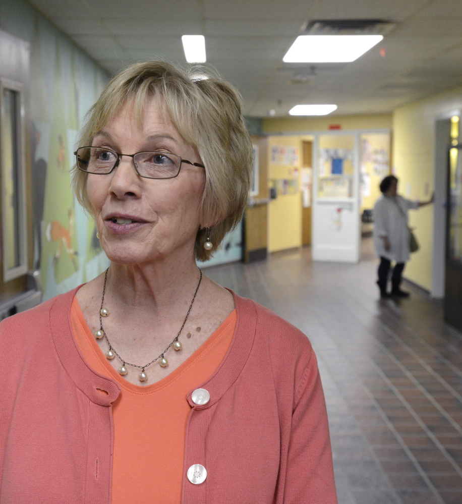 Narragansett School Principal Pauline Brann said the school's A grade from the state is a helpful morale booster and affirmation that the school is on the right track.