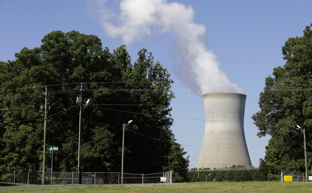 The Shearon Harris nuclear plant in Holly Springs, N.C., is among the plants nationwide that produce nuclear waste.