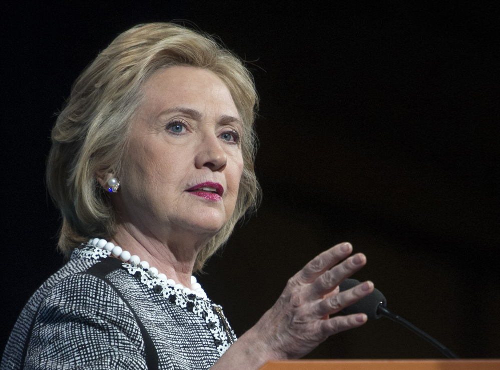 Hillary Rodham Clinton said Friday the dream of upward mobility feels further and further out of reach for many Americans.