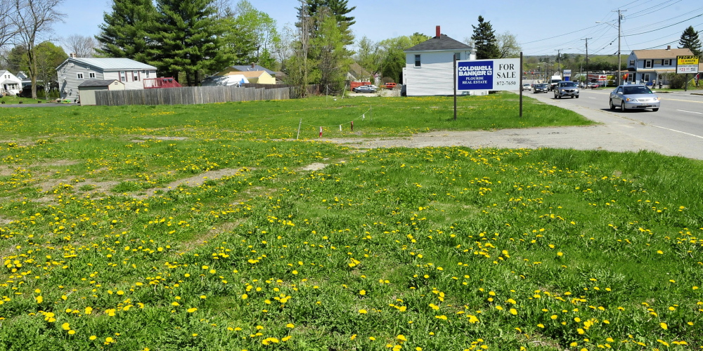Store proposal: This lot along Kennedy Memorial Drive in Waterville is the proposed site of a new Family Dollar store. It would be less than two miles away from an existing Family Dollar store in the city.