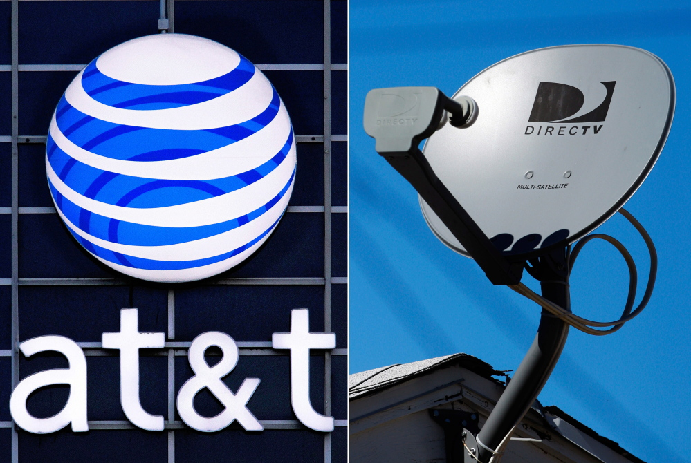 A merger of AT&T and DirecTV could counterbalance the merger of Time Warner and Comcast.