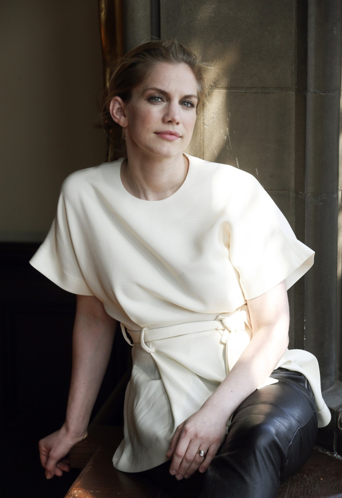 "Actress Anna Chlumsky plays the vice president's chief of staff on the hit HBO comedy ""Veep."""