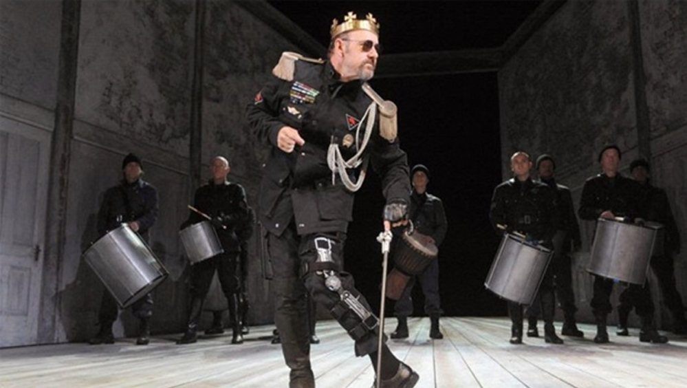 "Kevin Spacey in the title role of the traveling production of ""Richard III"" that is chronicled in his new documentary, ""Now: In the Wings on a World Stage"""