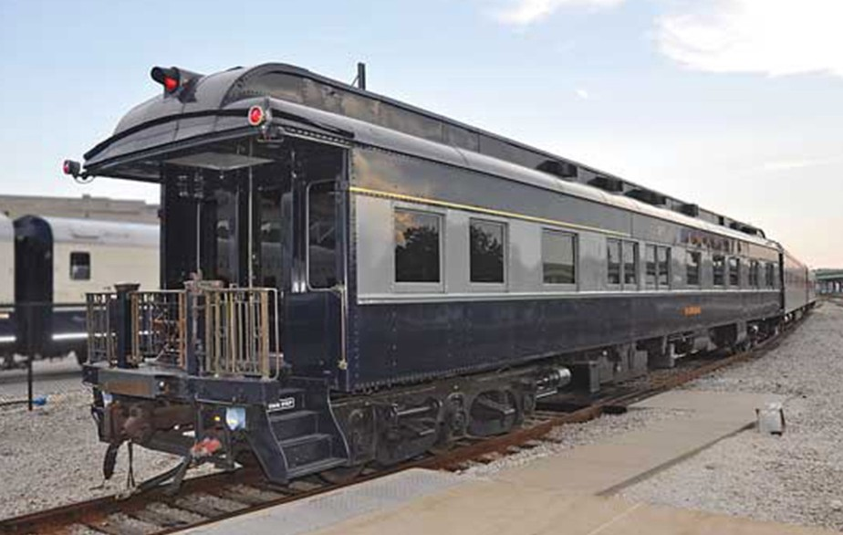 The oldest rail car set to visit Portland is known as the Federal, a 1911 Pullman that once carried presidents William Howard Taft and Woodrow Wilson.